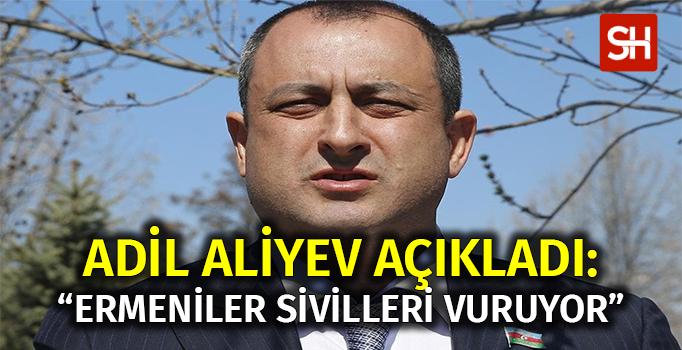 """Adil Aliyev Açıkladı: """"Ermeni Milisler Sivilleri Vuruyor"""" - Sabit Haber"""